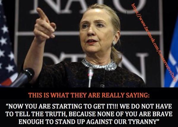 Hillary Clinton Mocks Americans