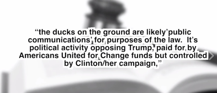 Illegal actions by HRC and The DNC