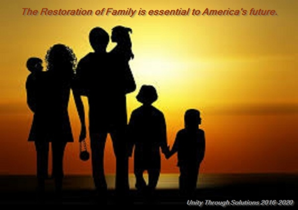 A Nation Cannot Survive Without The Families.
